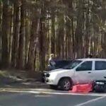 Мотобайкер погиб в ДТП в Новосибирске