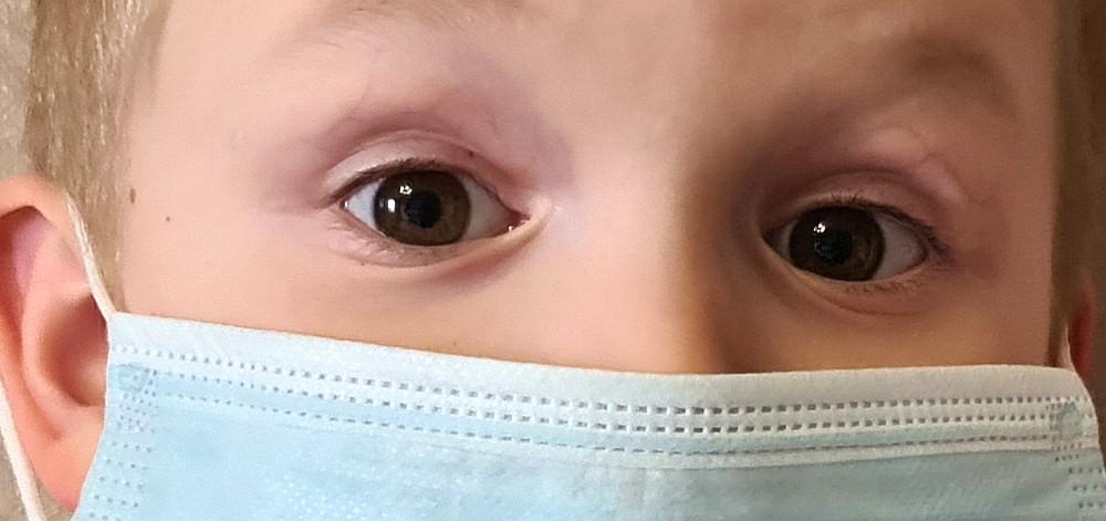 глаза ребёнка
