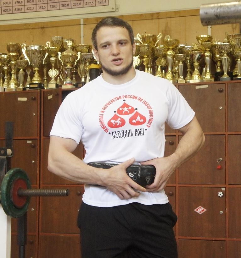 Семен Головачук (жим лежа)