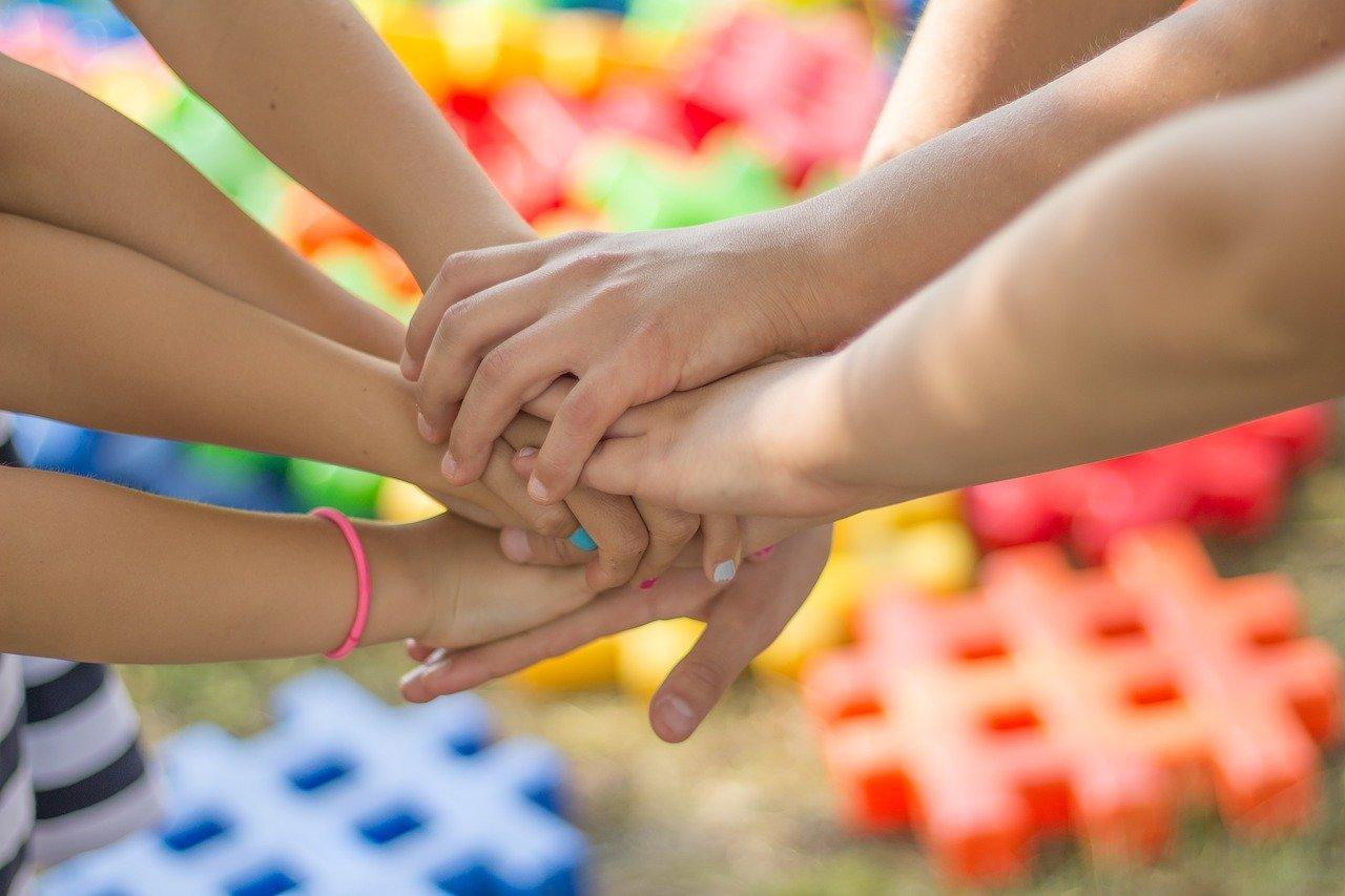 дети, дружба, лагерь