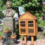 Арт-объект сотворили осуждённые КП-22 и подарили его колыванской библиотеке