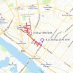 «ЗаБег.РФ» меняет движение транспорта в центре Новосибирска. Смотри «красные» зоны для объезда, и как поедет автобус.