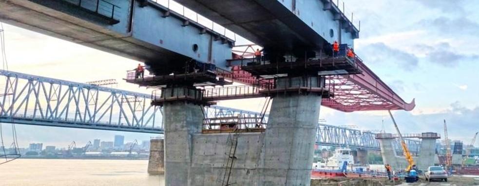надвижка моста