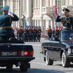 Уникальные кадры Парада Победы в Новосибирске