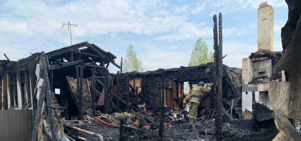 пожар на станции Мочище-13-05-21