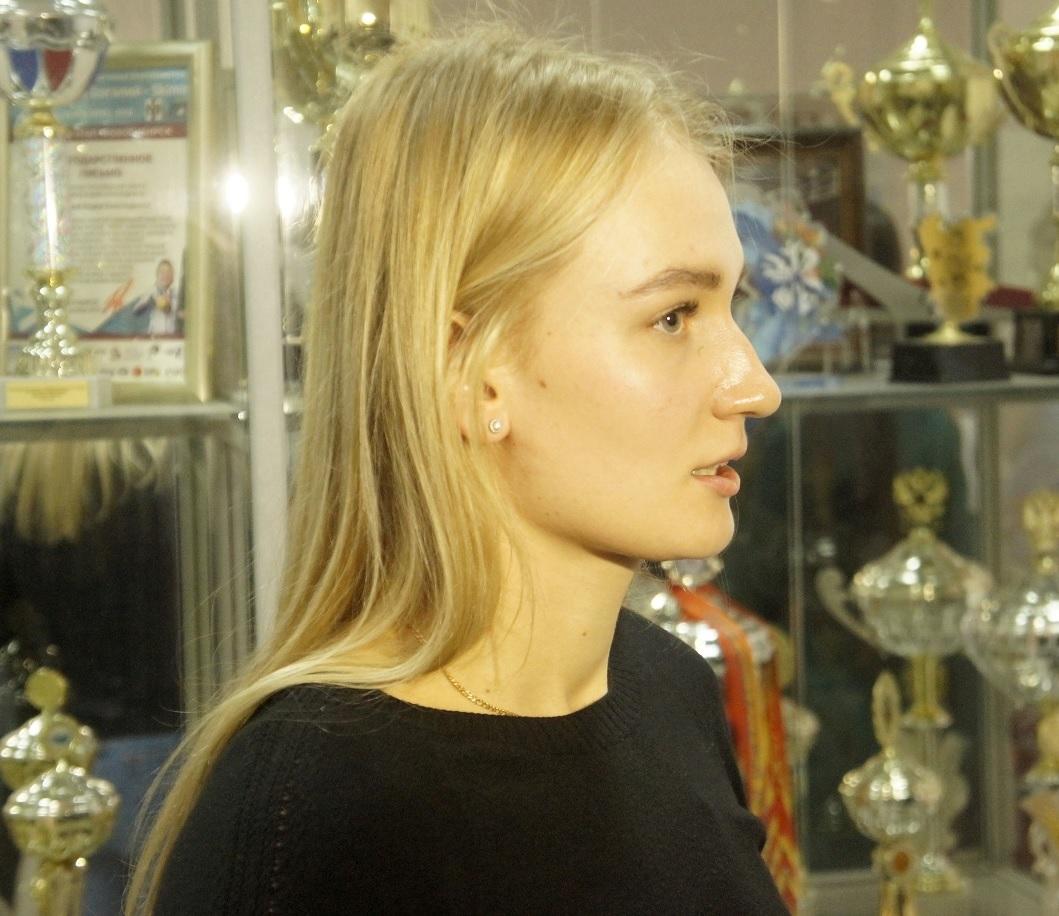 Арина Суркова - чемпионка России по плаванию