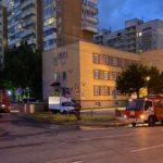 Пожар на Железнодорожной в Новосибирске 13 июня 2021
