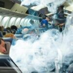 самолет, курение