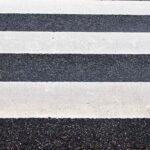 зебра, дорога, переход