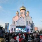 В День России в Новосибирске отпраздновали 800-летие со дня рождения Александра Невского (фото)