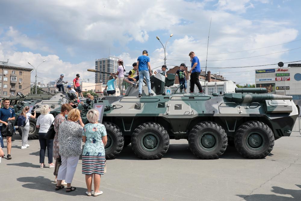 «Мы – армия страны! Мы – армия народа!»