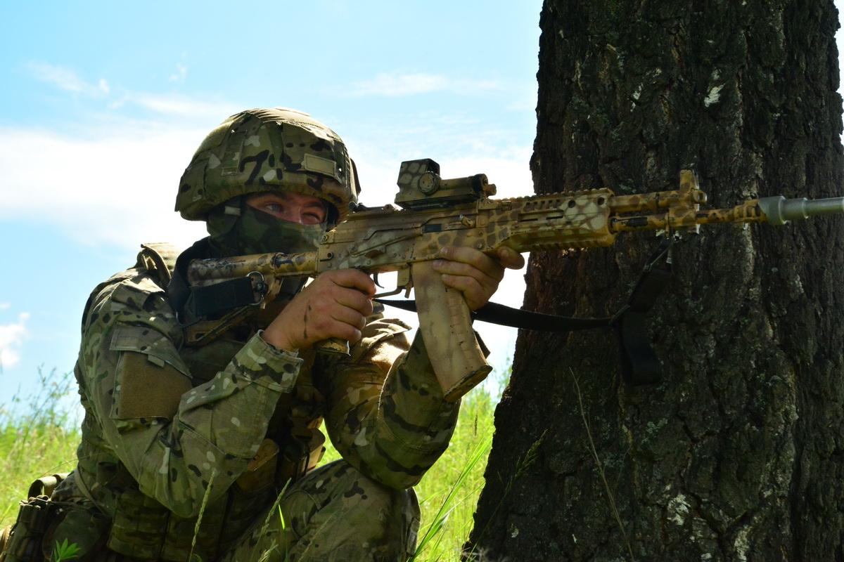 Снайпер под Новосибирском