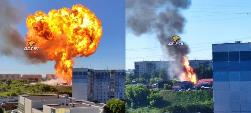Взрыв на АЗС 14 июня 2021