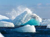 арктика, лед, вода