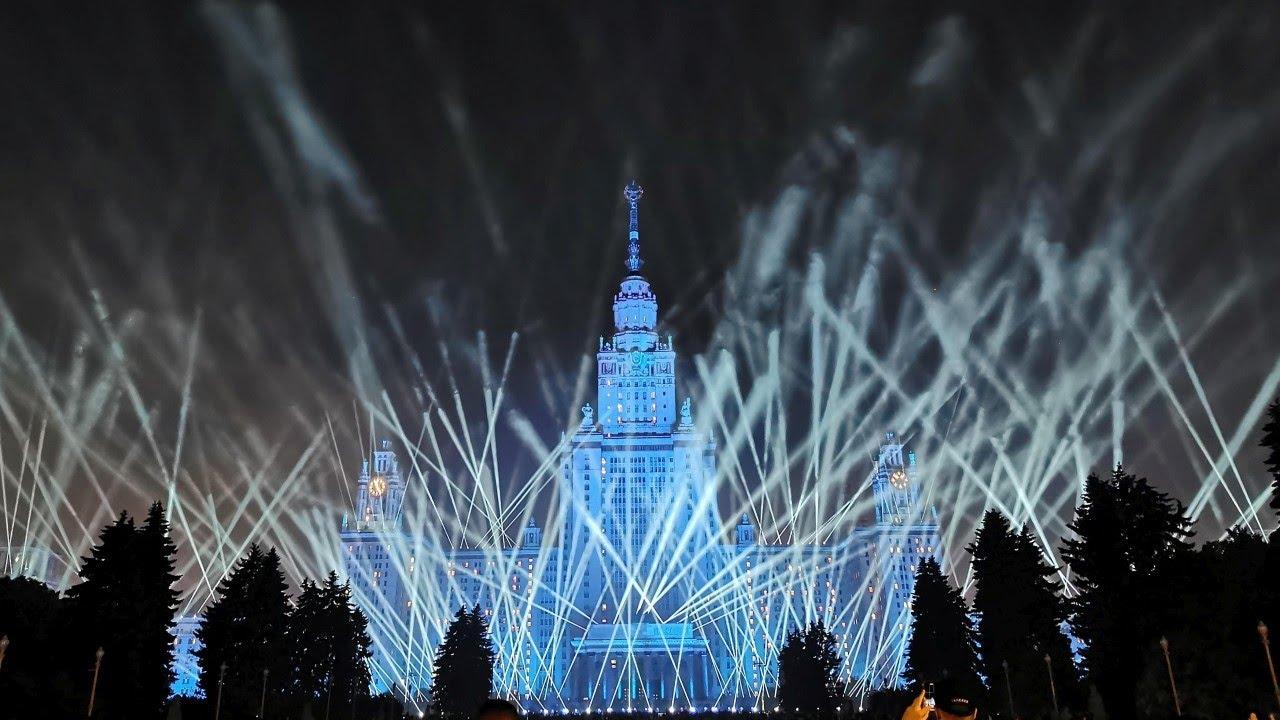 Лучи Победы в Москве