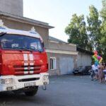 Новосибирцы отблагодарили потушивших взорвавшуюся АЗС пожарных
