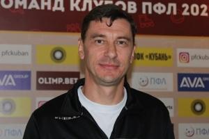 главный тренер ФК «Новосибирск» Павел Могилевский