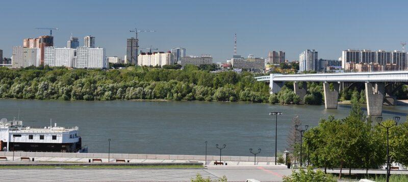 Новосибирск, река, Обь, мост