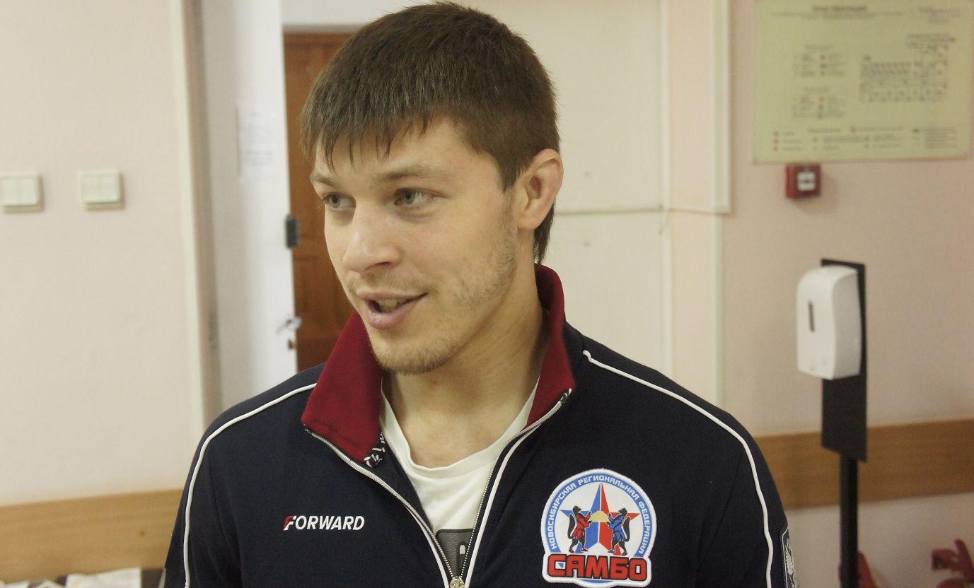 Чемпион Европы по самбо Павел Пантелеев
