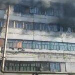 Кто будет устранять пожар на фабрике в Березовском и какую помощь получит семья погибшей сотрудницы, рассказал замгубернатора Кузбасса