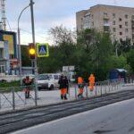 ремонт дорог на Шлюзе