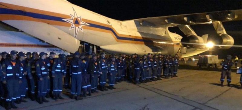 спасатели вылетают в Амурскую область