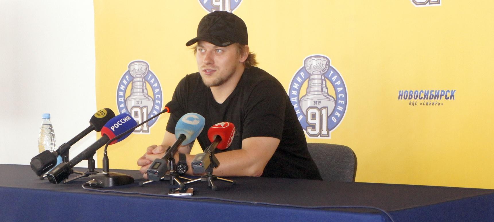 Владимир Тарасенко в Новосибирске