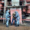 учения охраны в Красноярске