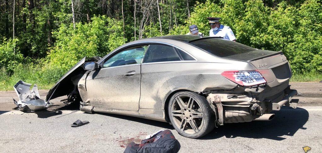 авария на Старом шоссе 14 июня 2021