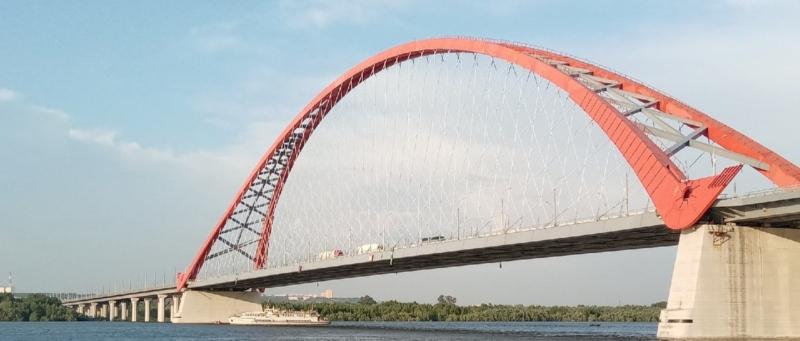 мост, Бугринский мост