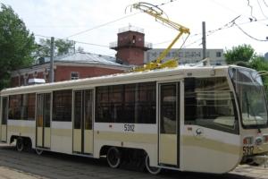 московский трамвай в Новосибирске