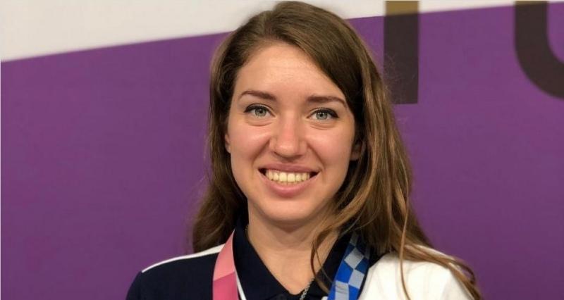 олимпийская чемпионка Виталина Бацарашкина