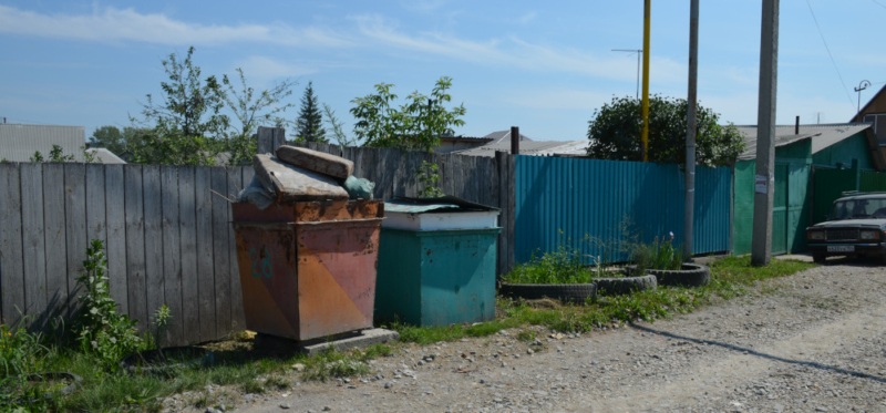 мусор в Искитиме