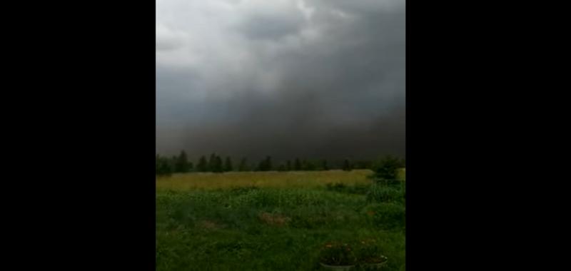 угольная пыль, буря