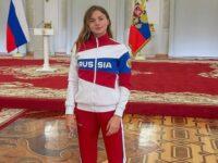 Ульяна Баташова в Кремле
