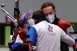 Стрелок Сергей Каменский -бронзовый призер ОИ в Токио