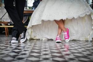 брак, свадьба, обувь