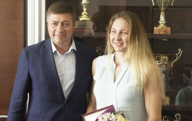 Сергей Ахапов и Мария Патласова
