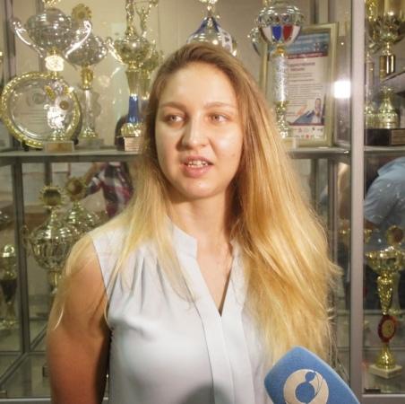 Пловчиха Мария Патласова