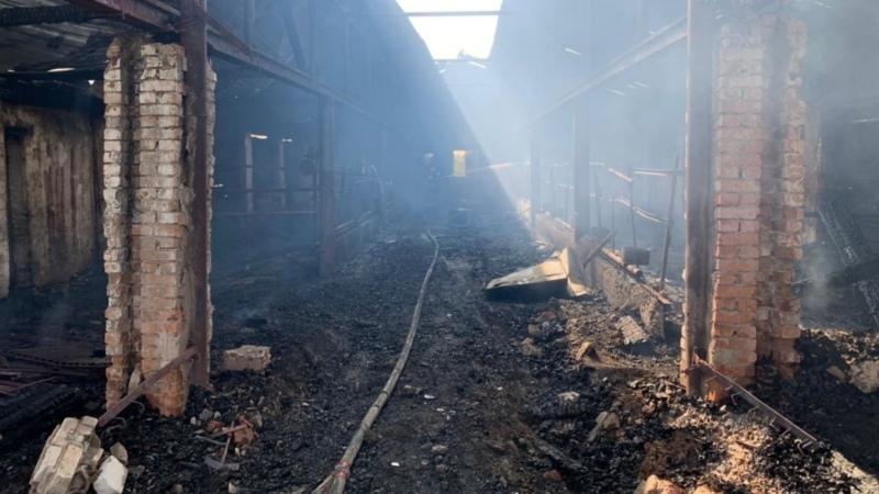 Пожар в Чановском районе