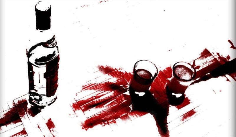 убийство, алкоголь