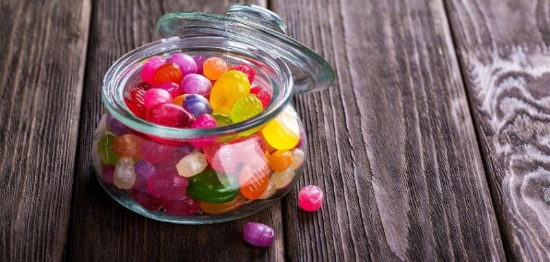 конфеты леденцы