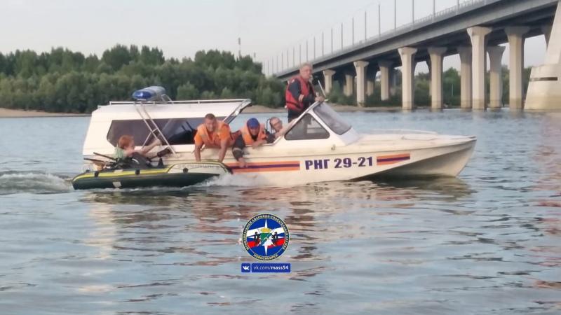 река, спасатели