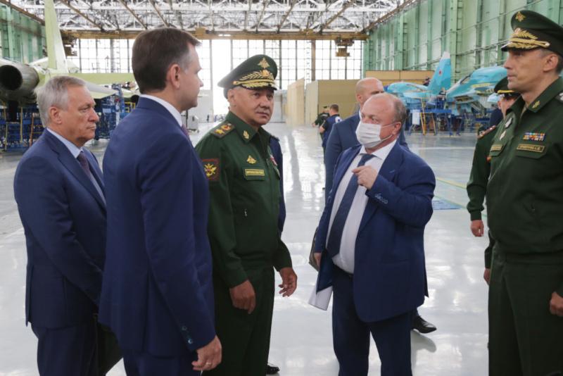 Сергей Шойгу в Новосибирске