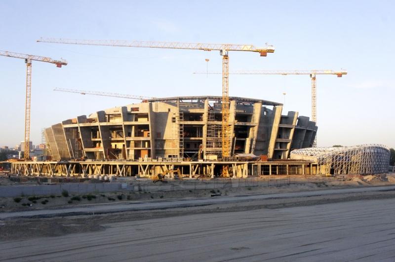 Стройка нового ЛДС в Новосибирске
