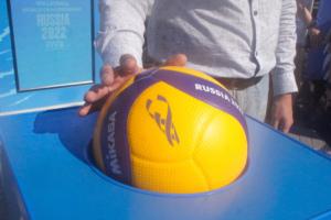 официальный мяч чемпионата мира по волейболу в Новосибирске