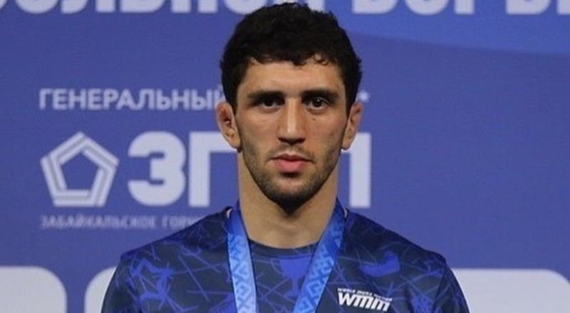 олимпийский чемпион по вольной борьбе Заурбек Сидаков
