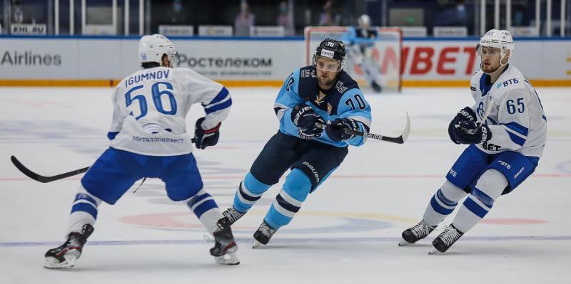 нападающий «Сибири» Егор Миловзоров