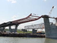 строительство моста в Новосибирске