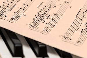 ноты, пианино